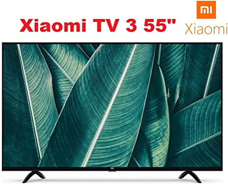 "Xiaomi 55"" Inch 4K AndroidTV UHD Smart Slim Thin LED TV mi 55"