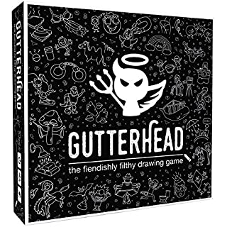 Gutterhead - The Fiendishly Filthy Drawing Game [Adult Party & Drinking Game]