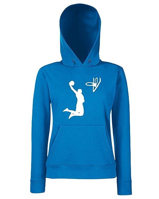 T-Shirtshock - Sudadera hoodie para las mujeras SP0022 Basket Dunk Maglietta, Talla L: Amazon.es: Ropa y accesorios