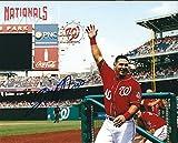 Autographed Wilson Ramos 8x10 Washington Nationals Photo