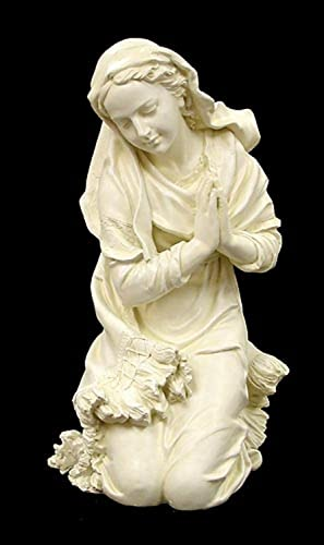Roman 16″ Religious Outdoor Patio Mother Mary Praying Statue Figurine