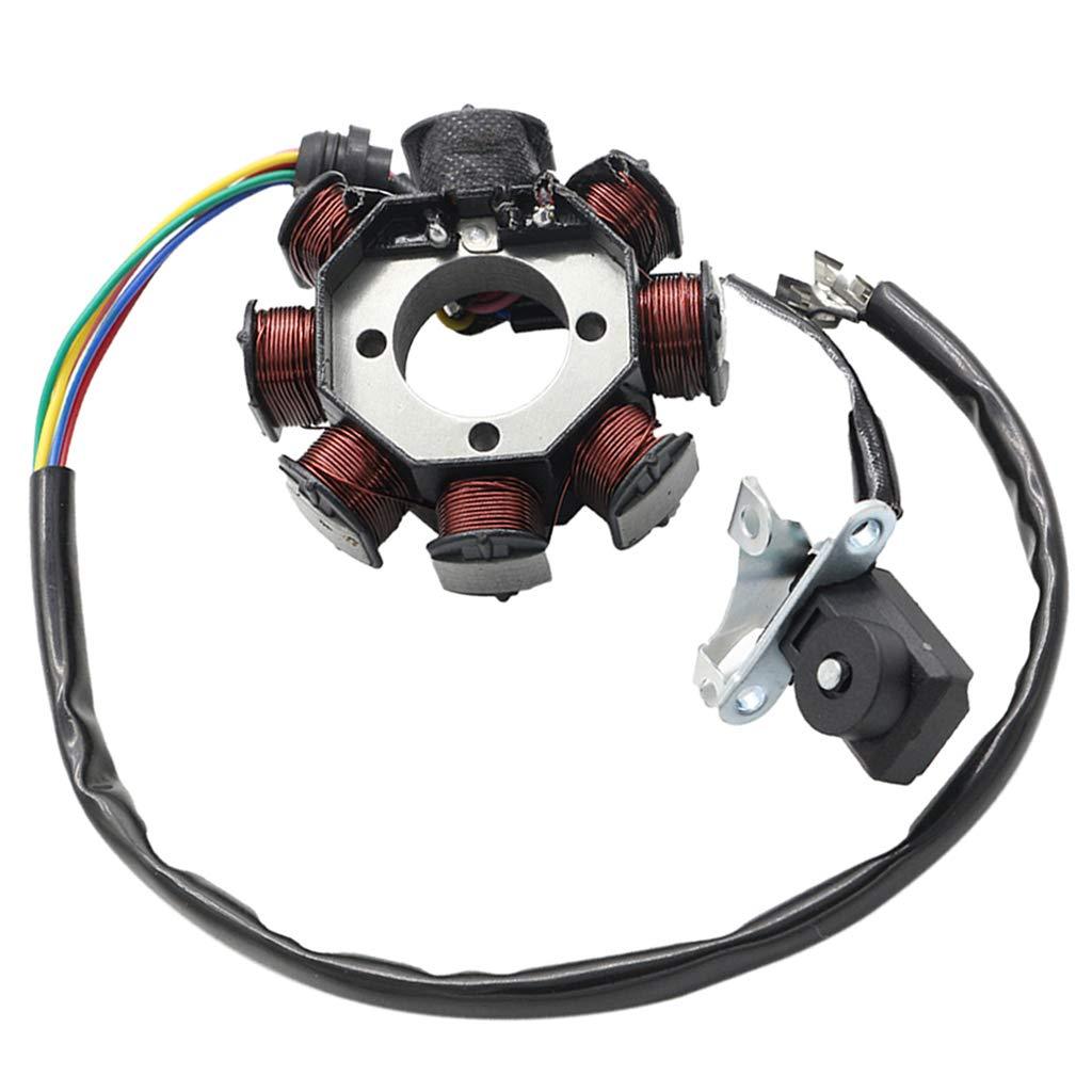 Placa Del Estator Del Magneto 8-bobina Para CG 125cc 150cc 200cc 250cc ATV