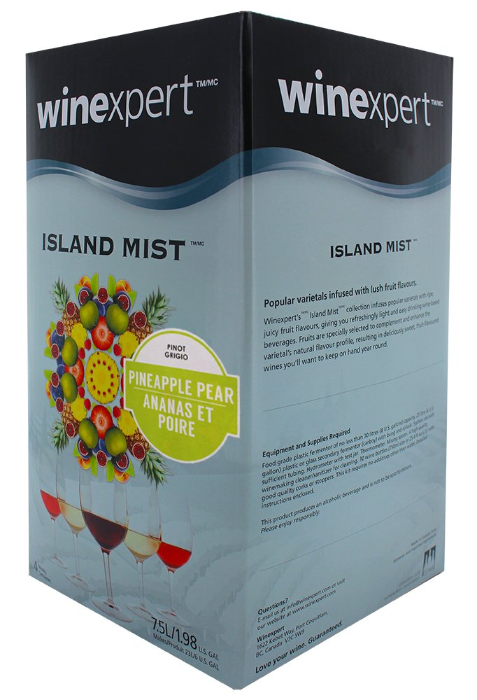 Midwest Homebrewing and Winemaking Supplies B007OWG27C FBA_3843115 Pineapple Pear Pinot Grigio (Island Mist) by Midwest Homebrewing and Winemaking Supplies (Image #2)