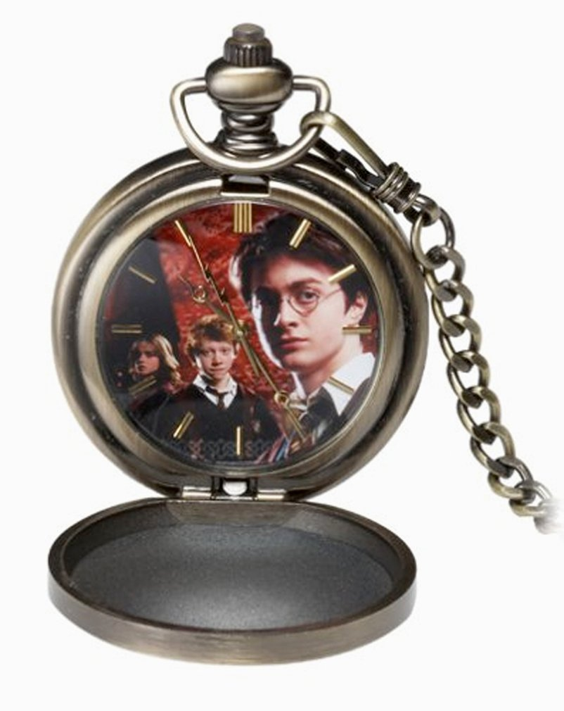 Harry Potter and the Goblet of Fire Kids' HP0220 Collectible Pocket Watch by Harry Potter