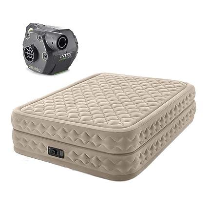Amazon.com: Intex Queen - Colchón de cama de 20 pulgadas ...