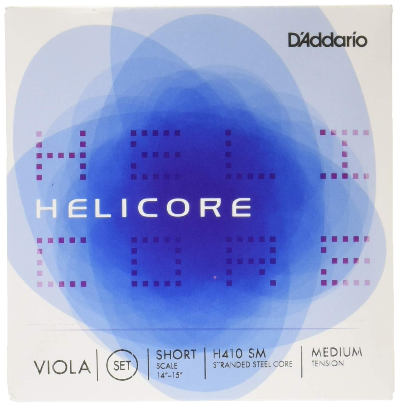 D'Addario Helicore Viola String Set, Long Scale, Heavy Tension D' Addario &Co. Inc H410 LH
