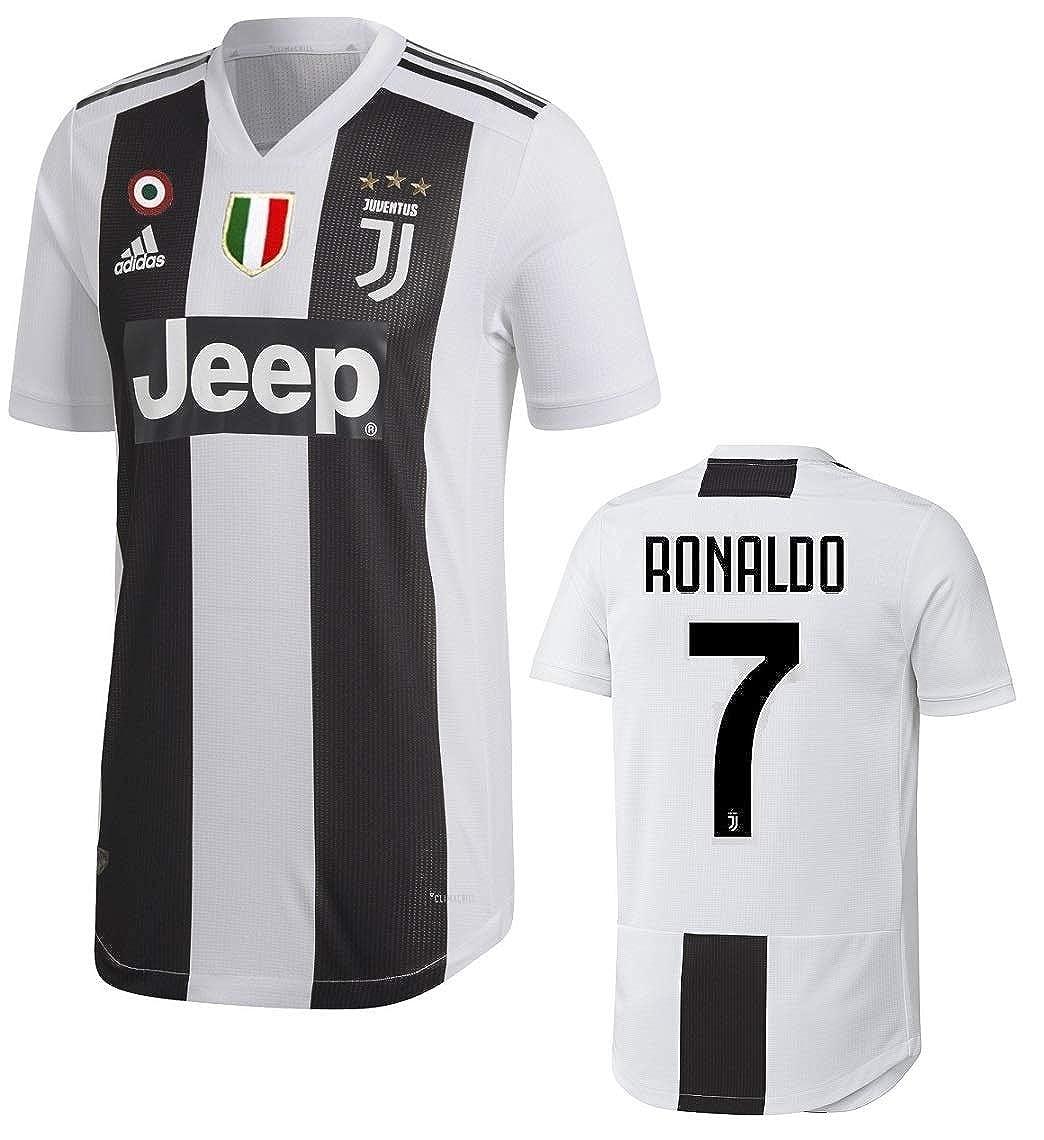 cheaper ea1cc ace2d Amazon.com: Juventus Ronaldo Authentic Match Home Jersey ...