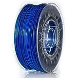 NuNus PETG Filament 1KG (1.75mm, blau) *Premium Qualität in verschiedenen Farben,geeignet für 3D Drucker,3D Pen, MakerGear Ultimaker uvm
