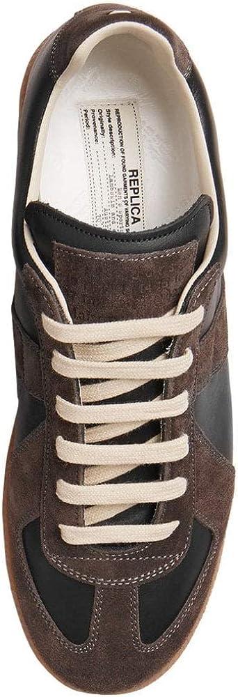 Maison Margiela réplica de Ante y Zapatillas de Cuero Brown 6: Amazon.es: Zapatos y complementos