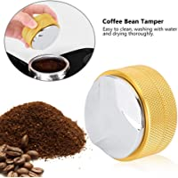 Coffee Tamper, 58mm Commercial Mini Stainless Steel Coffee Tamper Press Tool Coffee Distribution Tool Coffee Leveler