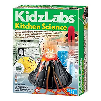 4M Kitchen Science Kit - DIY Chemistry Experiment Lab Stem Toys Gift for Kids & Teens, Boys & Girls (3806): Toys & Games