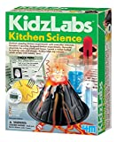 Convert your kitchen into a science lab with the 4M Kitchen Science Kit. Perform six different science experiments using common kitchen ingredients. Generate electricity using a lemon, launch a rocket with vinegar, write invisible messages, and more....