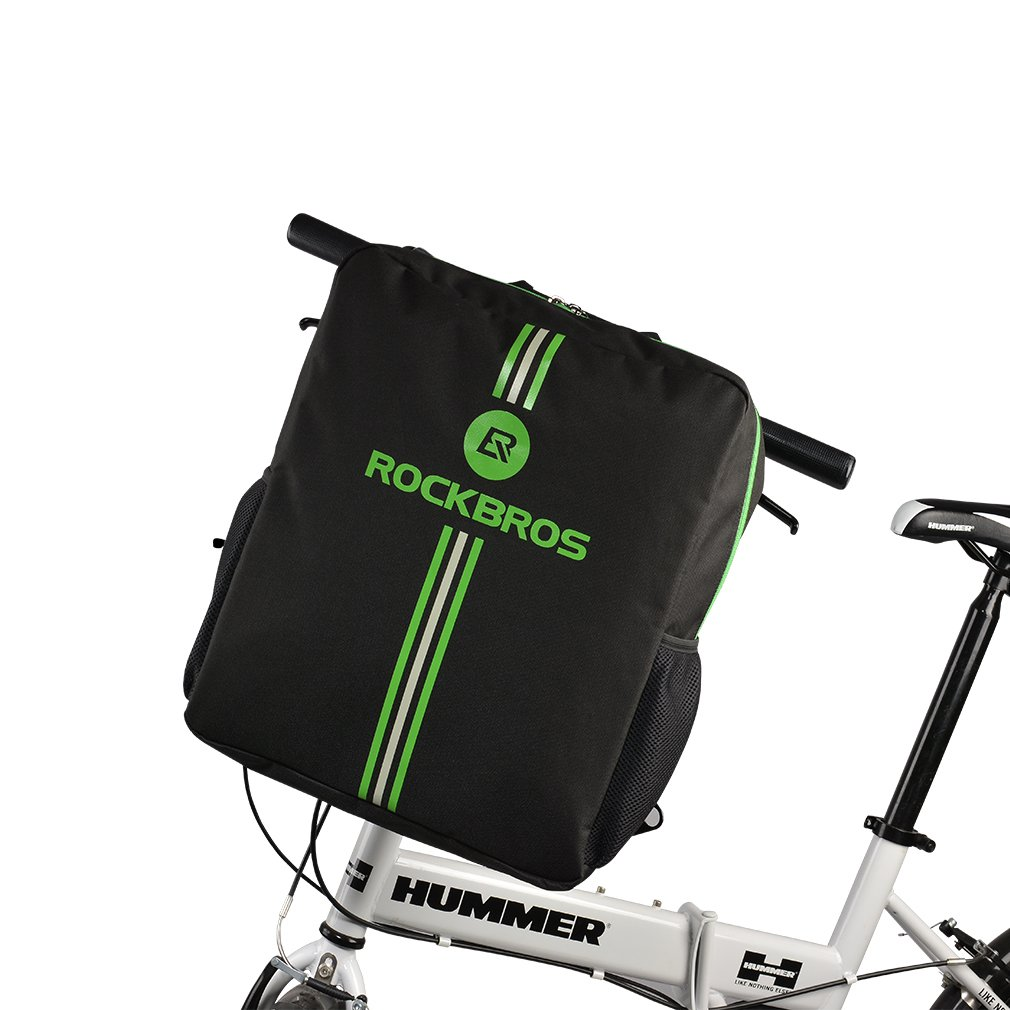 RockBros Folding Bike Carry Bag 16 inch to 20 inch Cycling Carrying Travel Case for Car Black