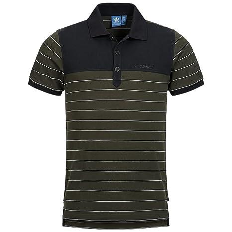 adidas Camisa Casual - Rayas - Para Hombre Verde Verde Oliva ...