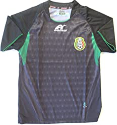 e40769f6f AGMAR Mexico Youth Away Soccer Jersey ONE Size (Size 14) 11 to 12 Years