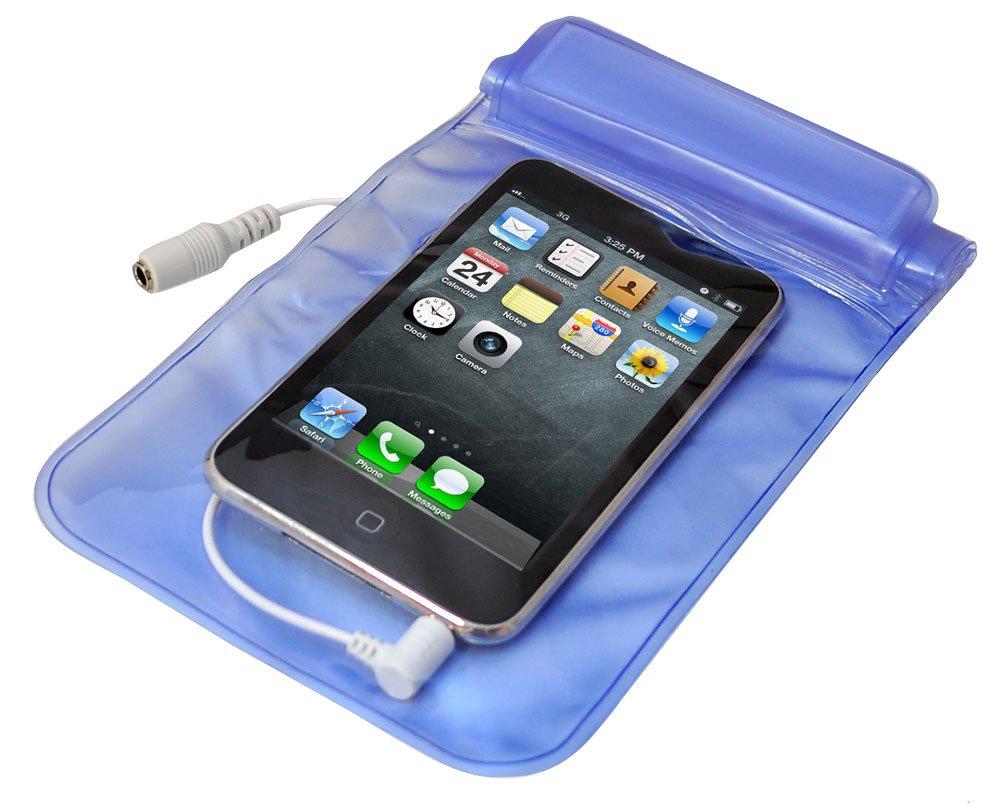 Amplificateur Pyle avec 4 canaux /étanche pour MP3 // iPod avec t/él/écommande filaire scooter de mer etc Couleur: Argent. Id/éal pour bateau