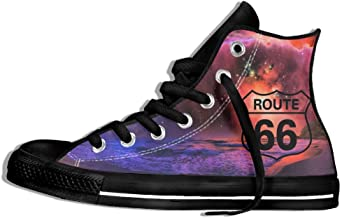 Route 66 High Top Classic Casual Canvas