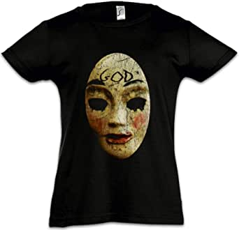 Urban Backwoods God Mask Camiseta para Niñas Chicas niños T-Shirt