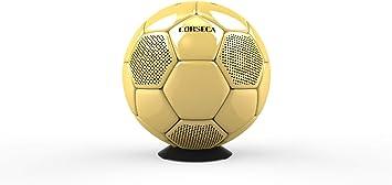 CORSECA - Altavoz Bluetooth portátil con balón de fútbol ...