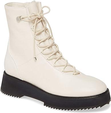 JIMMY CHOO Haysley Combat Boots Latte