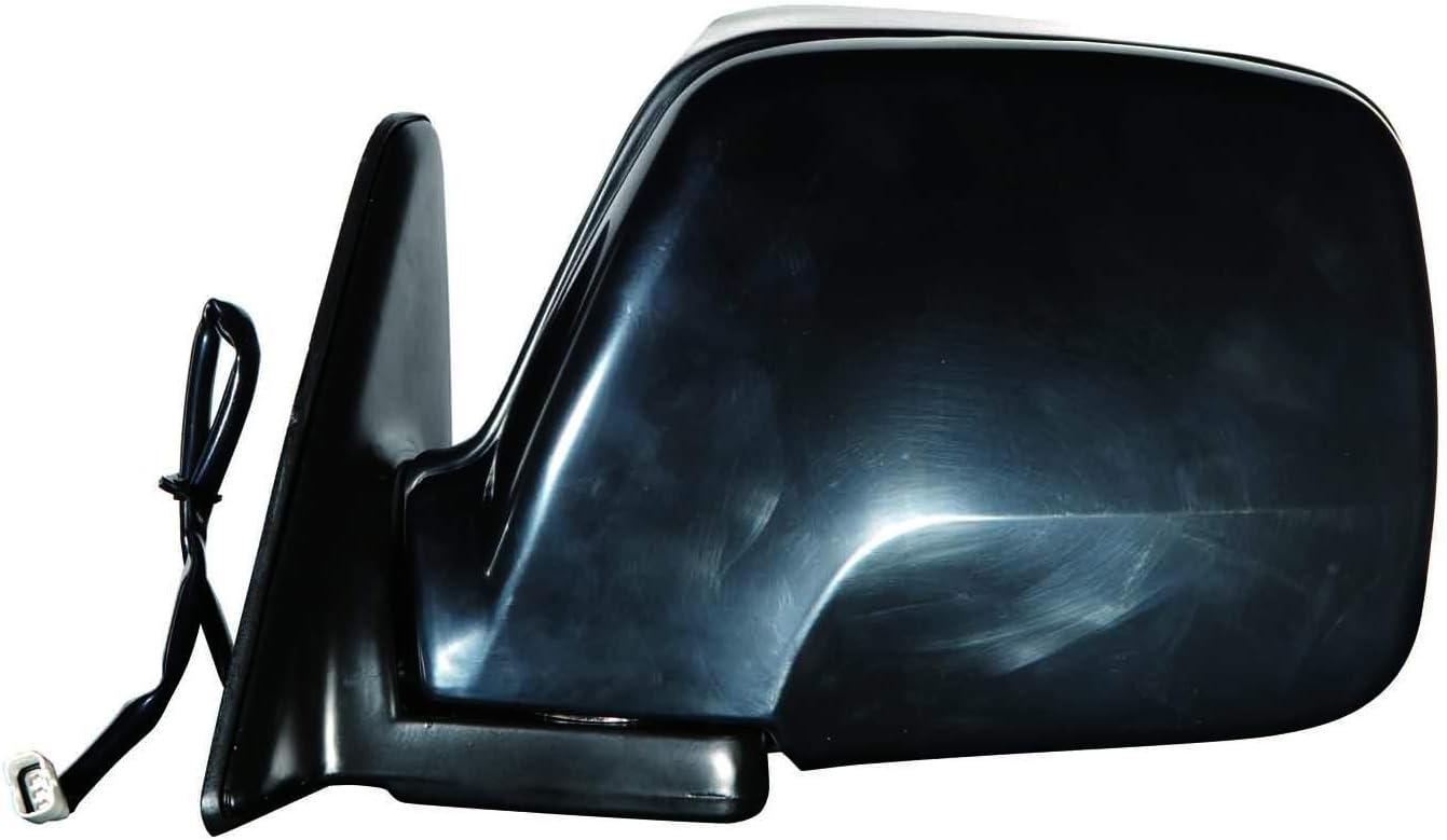 Depo 312-5407L3EB Black Driver Side Power Non-Heated Mirror