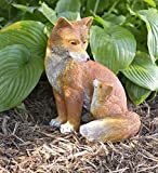 Fox Mother and Baby Outdoor Garden Sculpture Detailed Resin Statue Decor Animal Yard Art 9 L x 9 W x 12.5 H Review