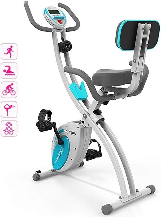 Mini Bicicleta Estática Plegable Bicicleta Estática De Interior Casero Bicicleta De Ejercicio Equipo De Pérdida De Peso De Todo El Cuerpo La Bicicleta Estática Ultra Silencioso: Amazon.es: Deportes y aire libre