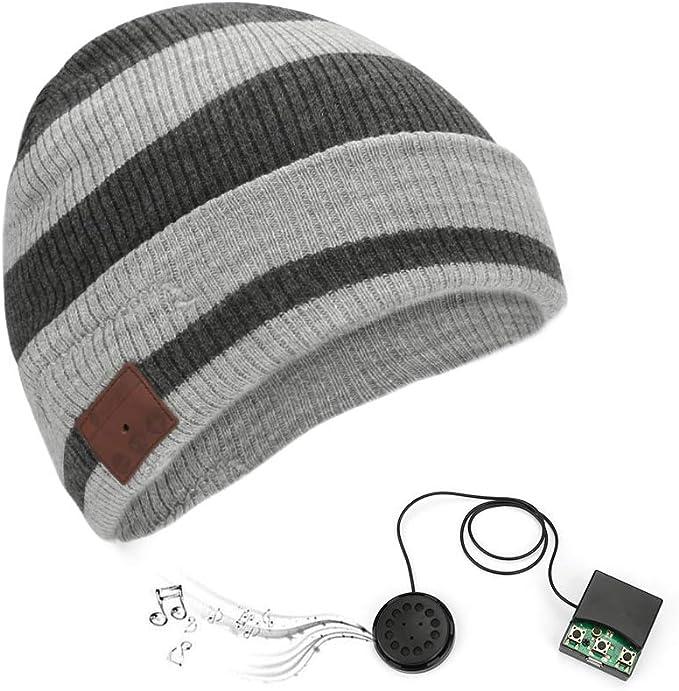 Bestcool Gorra Bluetooth, Bluetooth Sombrero, Hombre Gorra ...