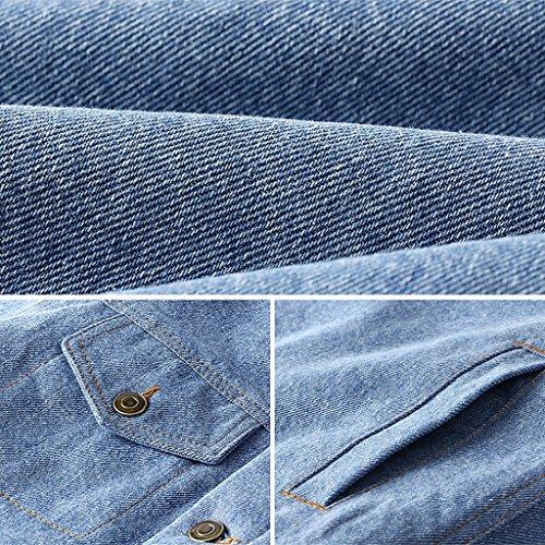 Dimensioni Shi Jeans Azzurro Del Giacca Di Vestiti Invernale colore Scuro Xl Delle Ispessimento Shop Blu Cappotto Li Xiang Moda Donne pd1xwfqTyT