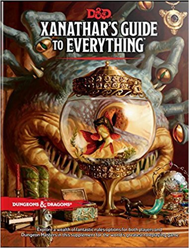 By Wizards Rpg Team  Xanathars Guide To Everything  Hardcover  2017 By Wizards Rpg Team  Author   Hardcover