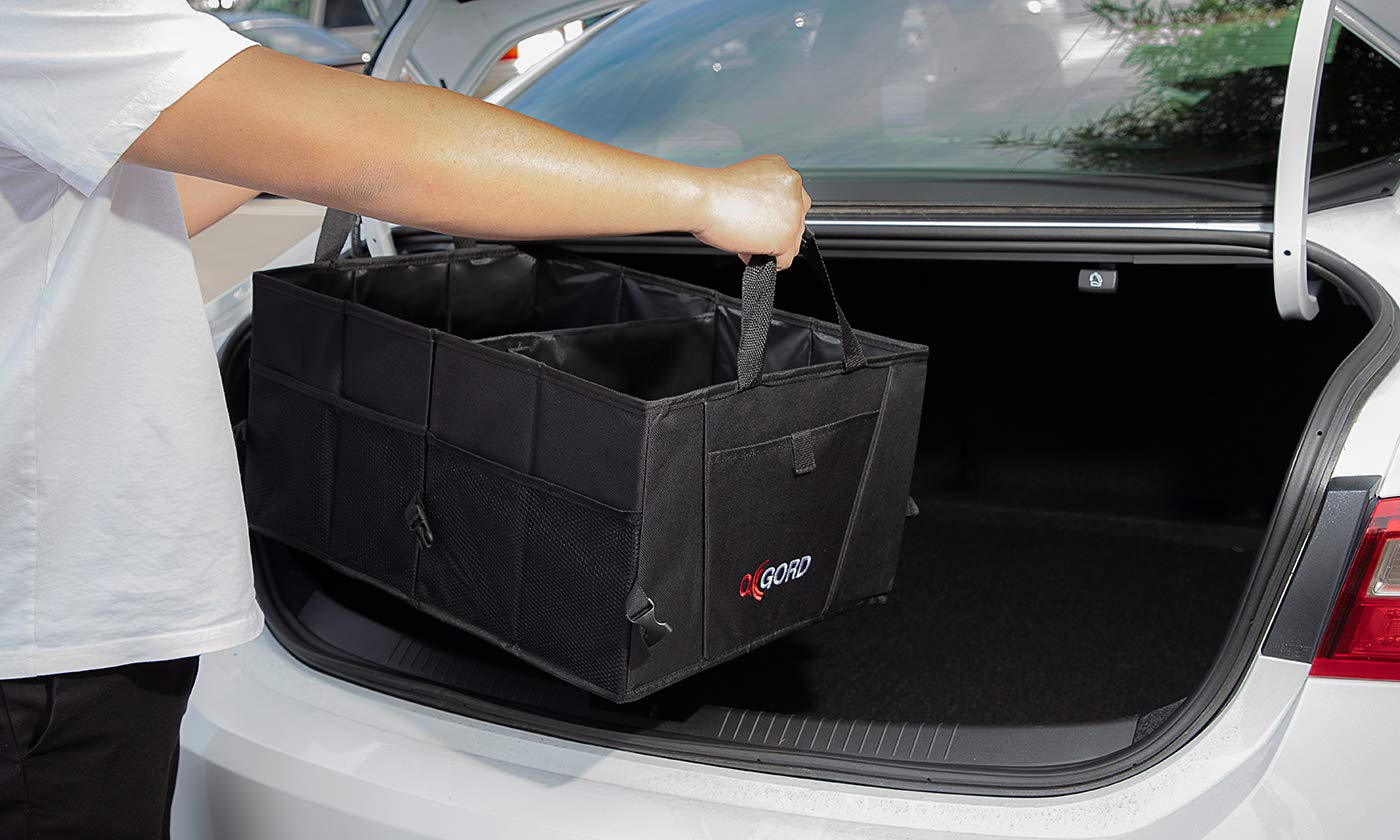 Trunk Organizer for Car Storage - Organizers Best for SUV Truck Van