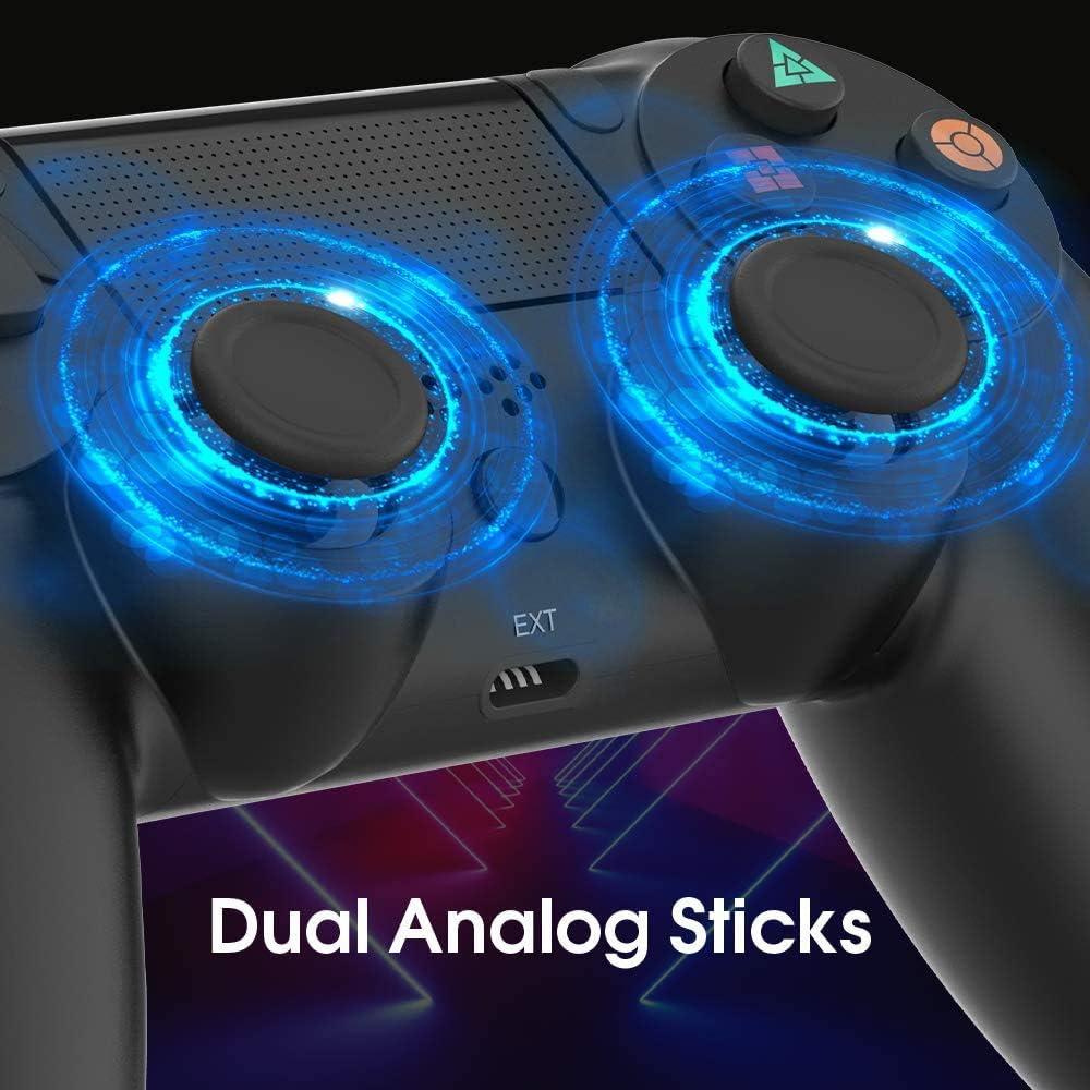 Control PS4, Control Doosl con Cable para PS4 - Gamepad - Control ...