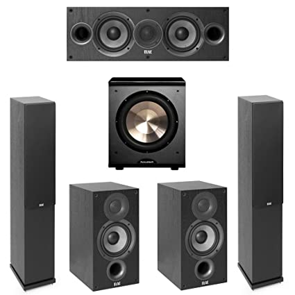 Elac Debut 20 51 System With 2 F52 Floorstanding Speakers 1 C5