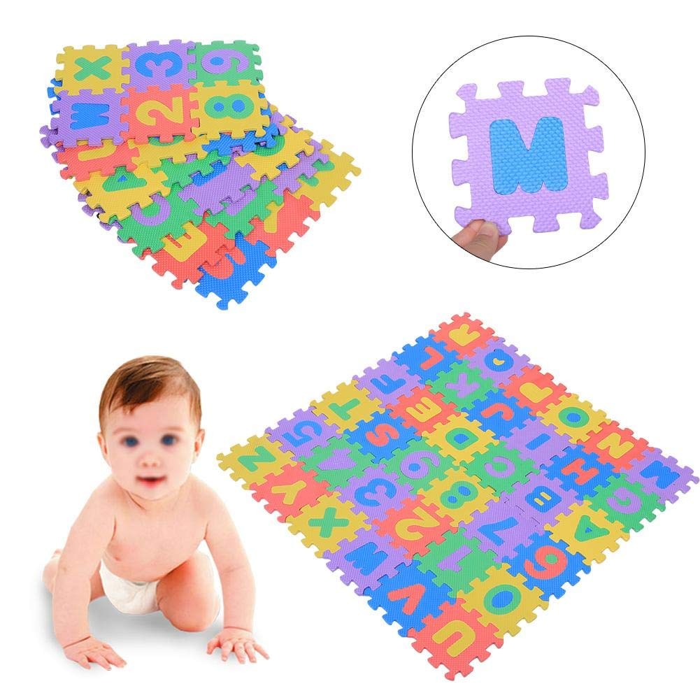 36Pcs Soft EVA Foam Play Mat Numbers/&Letters Kids Playing Crawling Pad Toys New