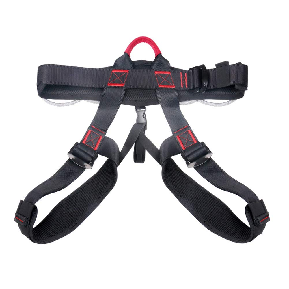 Half-Length high Altitude Rock Climbing seat Belt Seated Downhill seat Belt by HENRYY (Image #1)