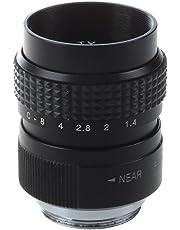 SODIAL (R) f1.4 25mm CCTV C-Monte Negro para Olympo PEN E-PL5 E-PM3 E-PM2 E-P1