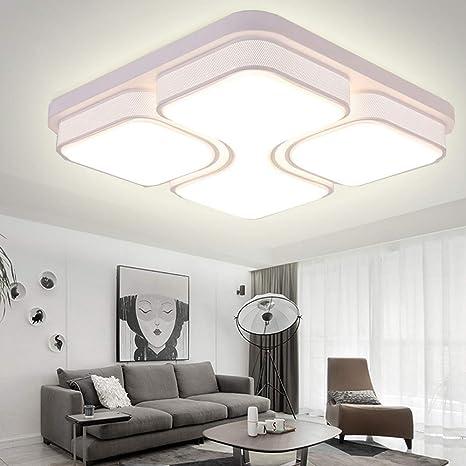 AMEMAY 48W Bianco caldo LED Plafoniere Plafoniera moderna per ...