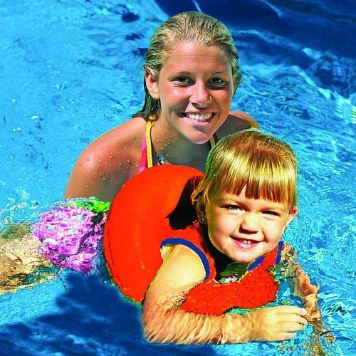 Poolmaster LearnToSwim Tube Trainer Orange by Poolmaster
