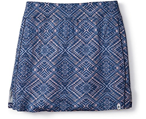(SmartWool Women's Merino 150 Pattern Skirt (Dark Blue Steel) Small)