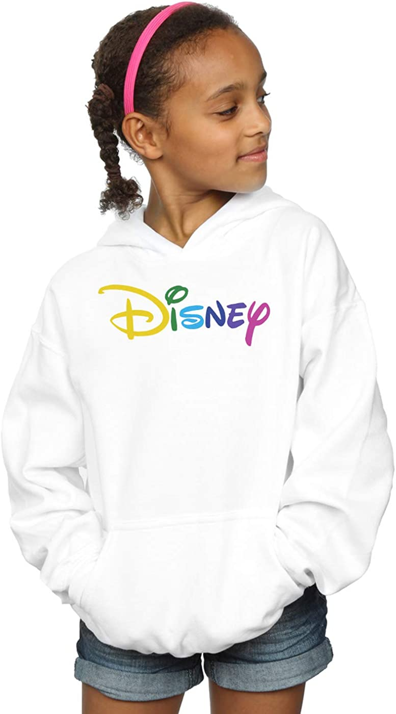 Disney Girls Colour Logo Hoodie