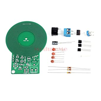Metal Detector Kit Electronic Kit DC 3V-5V 60mm Non-contact Sensor DIY JR