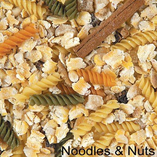 Crazy Corn Cooked Bird Food Noodles Nuts 12oz, My Pet Supplies