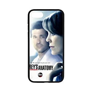 DreamOffice Custom Hard Protect Case Back Cover Bumper Lightweight for iPhone 7,Grey's Anatomy Art iPhone 7 4.7