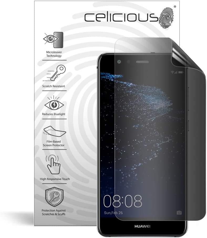 Celicious Privacy Plus 4-Way Anti-Spy Filter Screen Protector Film Compatible with Huawei P20 Pro