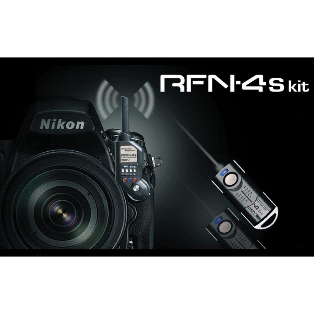 Rfn 4s Wireless Remote Shutter Release For Nikon Dslr Imaging Products Parts And Controls D800 D800e Camera Photo
