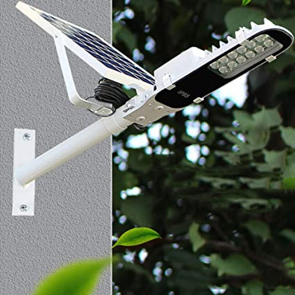 GAOYY Luz Solar 12 LED Inteligente 10W Seguridad del Sensor De Movimiento Exterior Aplique Pared IP67