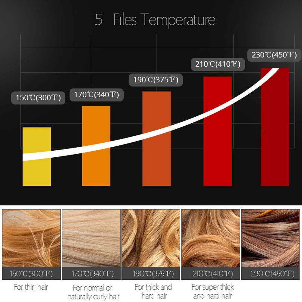 Salón Profesional Nano Steam Ion Hair Brush Plancha De Pelo 3D Peine ...