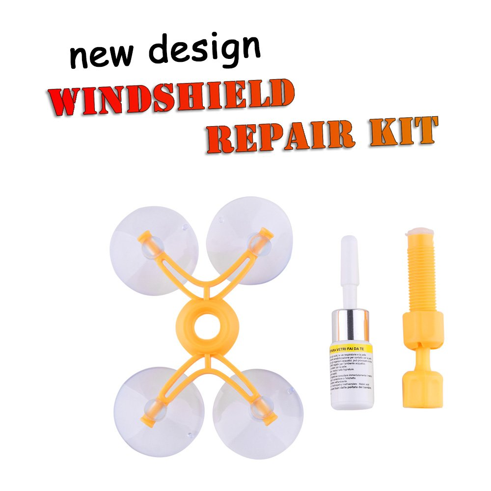 CALAP STORE - NEW Windscreen Windshield Repair Tool Set DIY Car Kit Wind Glass For Chip Crack Wholesale Car Window Repairing Tool Set