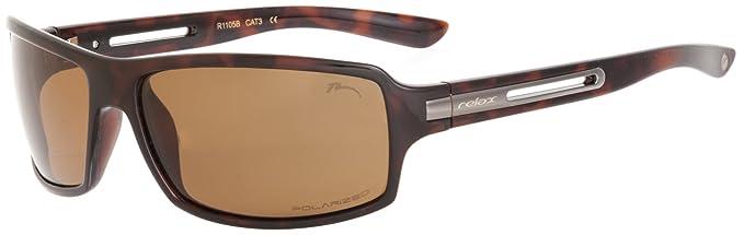 Sonnenbrille Herren Lossin RELAX/R1105/Polarisierte Gläser (Braun / Braun POLARISIERTE R1105B) AdZjHshX