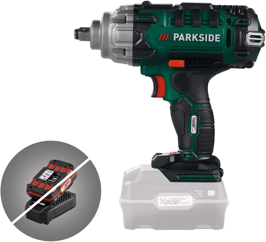 """DRAPER STORM FORCE CORDLESS IMPACT WRENCH 1//2/"""" 20V 400NM TORQUE FAST CHARGE CAR"""